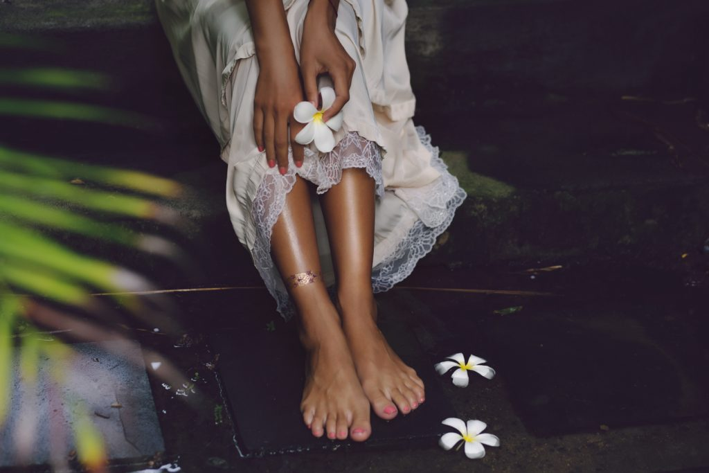 Фотосессия с цветами