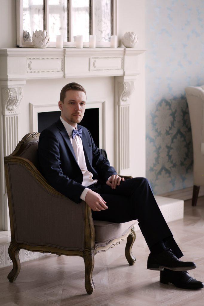 Свадебная фотосессия в помещении, Москва