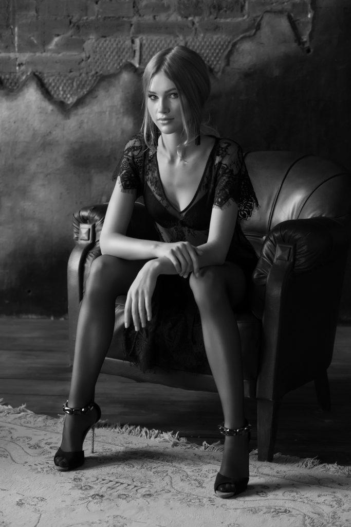 черно-белая фото в студии картинки