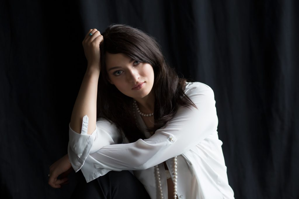 Портретная фотосессия в студии, Москва