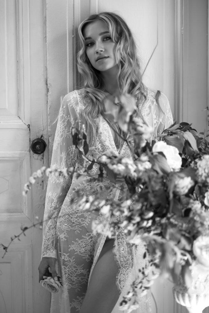 Фотосессия утро невесты в студии