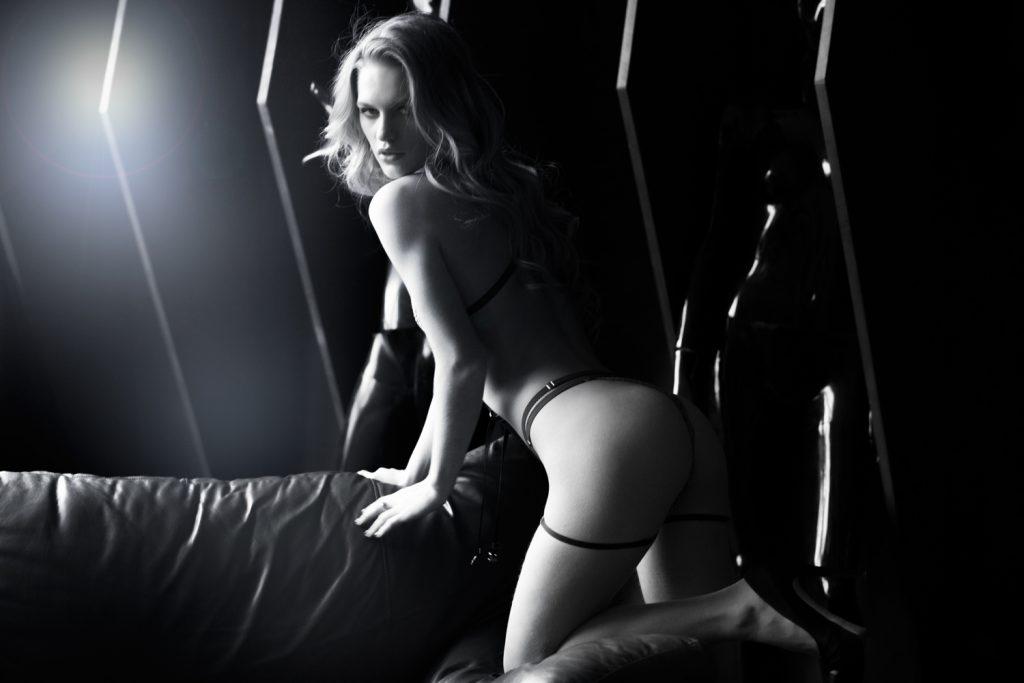 Фотосессия в черном стиле